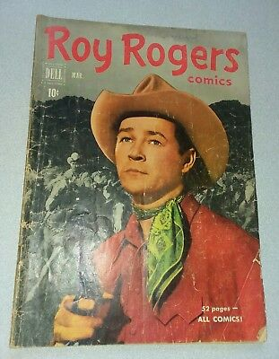 Roy Rogers #39 Dell Western Comics 1951 golden age lot run set movie collection