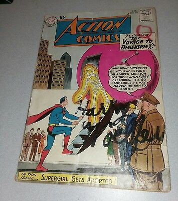Action Comics #271 dc 1960 Voyage To Dimension X! Early supergirl appearance 1st
