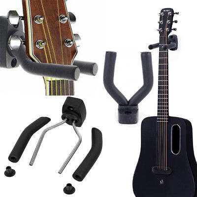 Wall Mount Guitar Holder Hooks Ukulele Bass Stand Hanger Display Racks Organizer