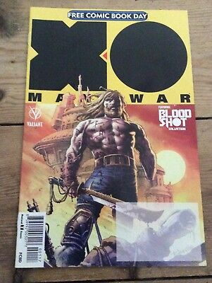 Man O War Free Comic Book Day 2017 special new
