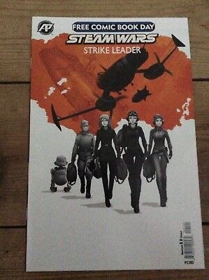 Steam Wars Strike Leader Free Comic Book Day 2017 special new