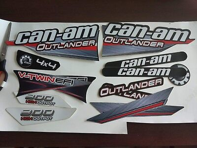 GRAPHICS BRP can-am 800 outlander decals kit sticker [461]