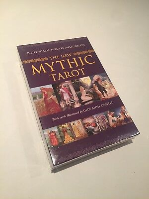 The New Mythic Tarot by Sharman-Burke & Greene. BRAND NEW shrink Wrapped