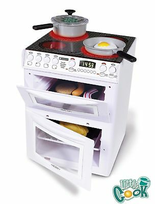New Casdon Kids Toy Pretend Play Hotpoint Electronic Oven