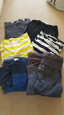 Maternity clothes bundle size 10/12.