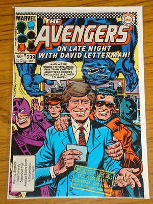 Avengers #239 Vol1 Marvel Comics January 1984