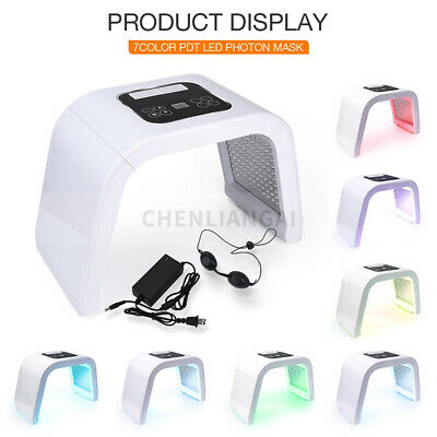 7 Color LED Photon Light Therapy Face Body Beauty Machine Skin Rejuvenation Acne