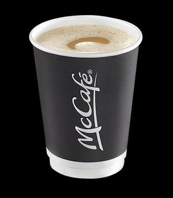 Mcdonalds Coffee Loyalty Stickers 1200 Stickers **EXPIRY 31.12.19** 200 Cups