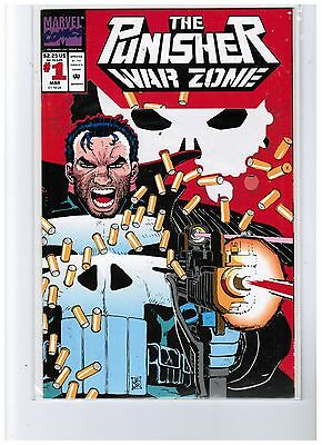 The Punisher: War Zone #1 (Mar 1992, Marvel) Please scan and description