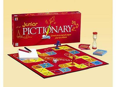 Junior Pictionary Board Game , BRAND NEW BOXED, SEALED, FREE EXPRESS DELIVERY UK