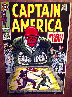 Captain America #103 VF+