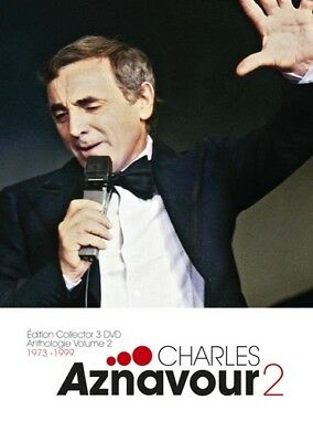 """Coffret 3 DVD Charles Aznavour Anthologie 2 """"Edition Collector"""""""