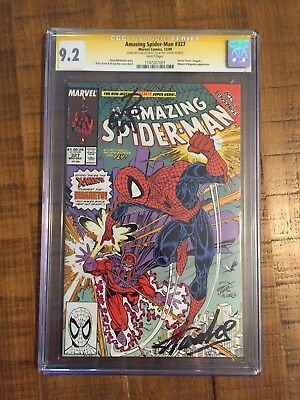 Amazing Spiderman 327 Signed By Stan Lee! Key Issue!