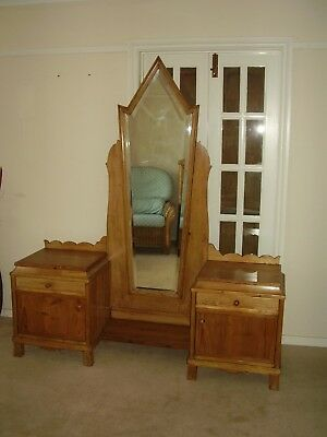 20th Century Pine Dressing Table