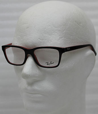 NEUF ! RAY Ban Junior Monture RB 1536 3573 - 48-16-130, Noir + Rouge ... 5972fef8a5a9