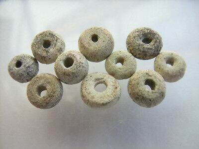 10 Ancient Egyptian Glass Beads, Egypt, VERY RARE!   TOP !!