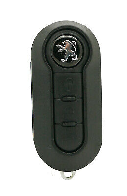 Fits Peugeot Boxer Expert Van 3 BUTTON REMOTE KEY FOB Case with blank blade