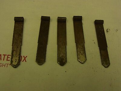 5 Ford Gumball Machine Lock Plates 2 1/2 Long