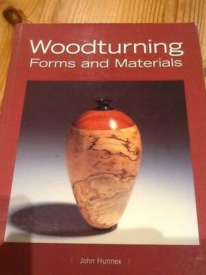 Woodturning Forms and Marerials