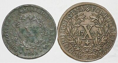Portugal Monarchy Lot 6 of 2 Coins