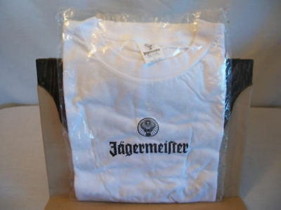 New Jagermeister Party Shark White T-Shirt  Bar Promo