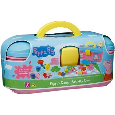 Peppa Pig's Dough Activity Box Set With Picnic Case & Character Moulds-310515