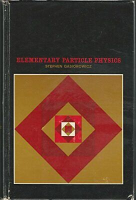 Elementary Particle Physics by Gasiorowicz, Stephen Hardback Book The Cheap Fast