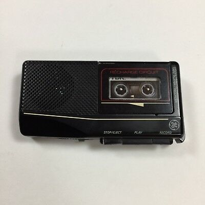 Microcassette Recorder Player GE 3-53570B