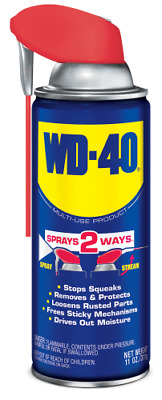 WD-40 Multi-Purpose Lubricant with Smart Straw Spray 11 oz