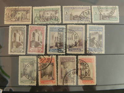1750 Spain Tanger Telegraph Collection Mounted Mint /used                (Lot B)