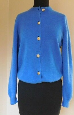 Vintage Ballantyne cashmere cardigan, made in Scotland, size 40, small