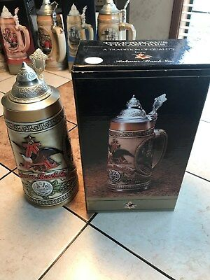 "Budweiser Anheuser Busch Tomorrow's Treasures ""A"" Series Stein"