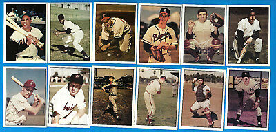 1979 TCMA Stars Of The 1950's 291 Card Complete Set with 2 Sample cards (ex-mt)