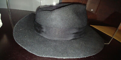 Michael Jackson's worn famous fedora $$$ the real one. Not a joke!