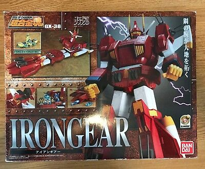 Soul of Chogokin GX-38 Xabungle Irongear Bandai 2007 US seller