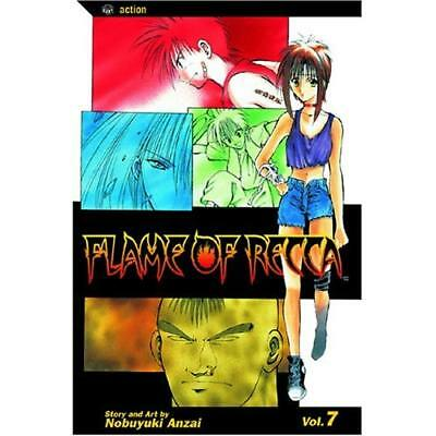 Flame of Recca: v. 7 (Flame of Recca) [Illustrated] - Paperback NEW Anzai, Nobuy