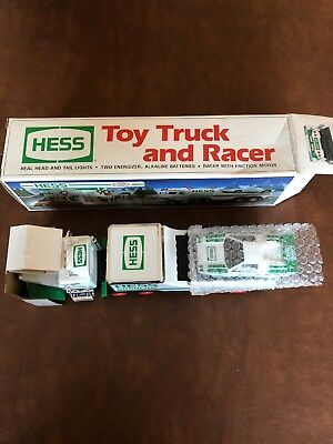1991 Hess Toy Truck And Racer NIB