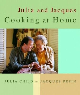 Julia and Jacques Cooking at Home by Pepin, Jacques Hardback Book The Cheap Fast