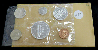 1963 Canadian Silver Proof Like Set in mint packaging