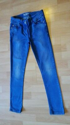 Next Bright Blue Girls Skinny Jeans   Age 10 Years