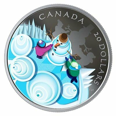 Mystical Snow Day - 2019 $20 1 Oz Fine Silver Coin – Royal Canadian Mint