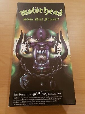 Motorhead: Stone Deaf Forever. The Definitive Collection. 5 Cd Box Set.