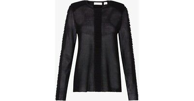 Sass & Bide XS BNWT  black stretch knit RRP $320