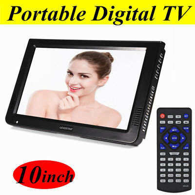 DVB-T-T2 10 inch Portable TFT-LED HD Digital Smart TV ATV Television Player 1080