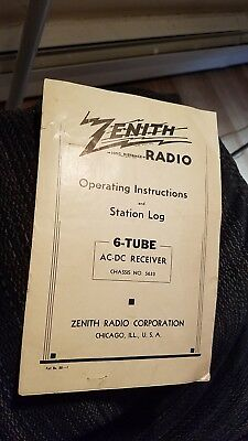 1936 Zenith Model 6d117 Tabletop Radio Restored And Works 22500. 1936 Zenith Model 6d117 Tabletop Radio Operating Instructions Manual Only. Wiring. Zenith 8s154 Tube Radio Schematics At Scoala.co