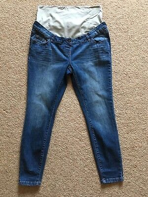 Next Over Bump Maternity Jeans Size 14