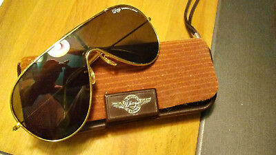 Vintage Ray Ban Bausch & Lomb Wings Gold