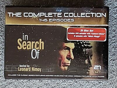 In Search Of... The Complete Collection Unsolved Mysteries 21-DISC DVD SET Nimoy
