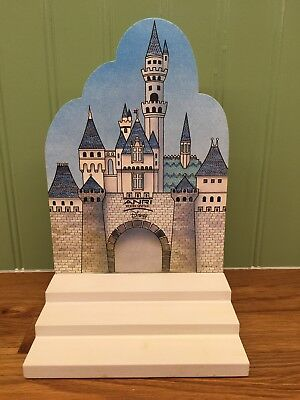 Anri Display Stand for Disney Miniature Mini Wood Carvings *Excellent*
