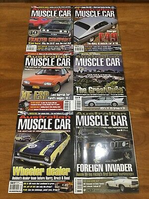 "Australian Muscle Car Magazines # 62 64 65 66 67 68 ""Free Post"""